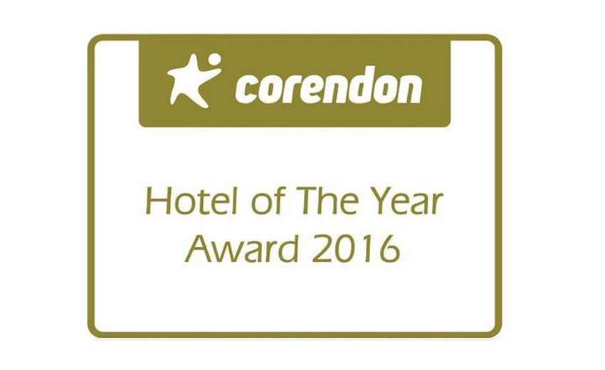 PRÊMIO CORENDON HOTEL OF THE YEAR 2016 Hotel Balaia Golf Village Albufeira